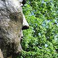 Statue en bronze de François Mitterrand