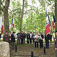 Stèle du capitaine Patureau dont l'avion a été abattu le 17 juin 1940 au-dessus de La Charité