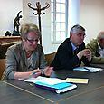 Visite à Luzy - Rencontre avec les élus
