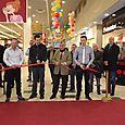 Inauguration de la galerie commerçante d'Auchan