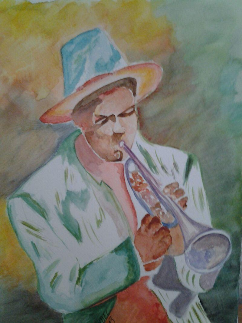 Trompettiste Olivier