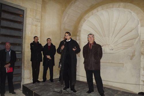 Inauguration du Cloître du Prieuré - 10 décembre 2011
