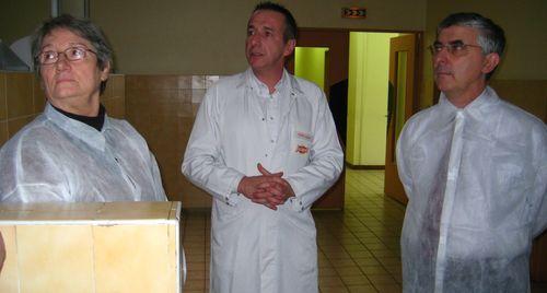 Visite de l'entreprise Jacquet à Clamecy