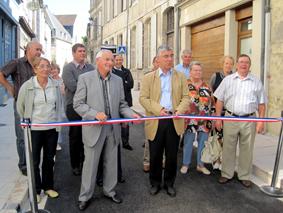 Inauguration de la rue des hotelleries à La Charité 13 mai 2011
