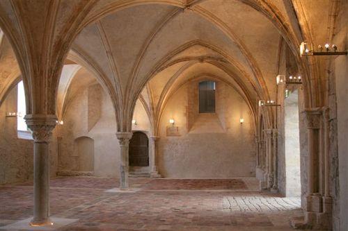 La salle capitulaire du prieuré rénovée en 2008