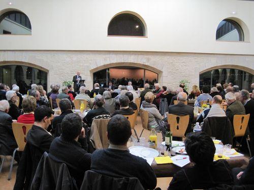 Yves Krattinger à Cosne - 16 février 2012