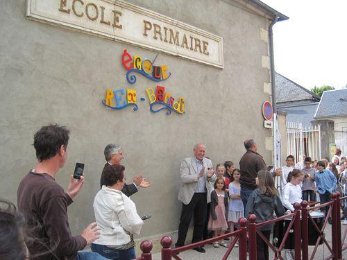 Inauguration de l'école Rex Barrat