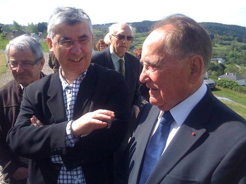 Avec René Teulade