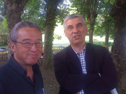 Avec René Nicard