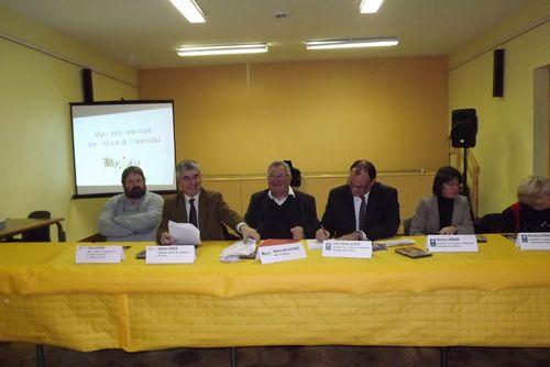 Signature à Raveau de la Convention de Partenariat