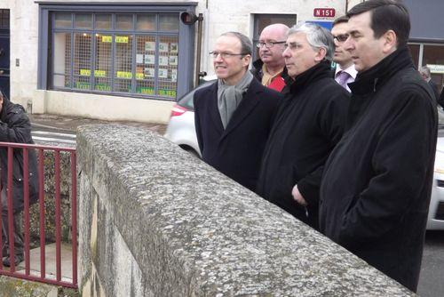 Visite du Préfet de Région à La Charité