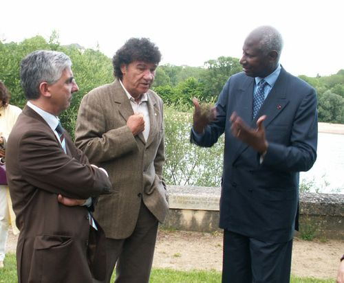 Discussion avec Abdou Diouf et Robert Charlebois