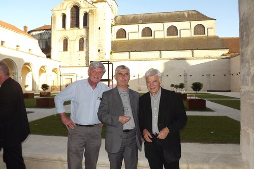 En compagnie de Guy Bedos et Marc Lecarpentier