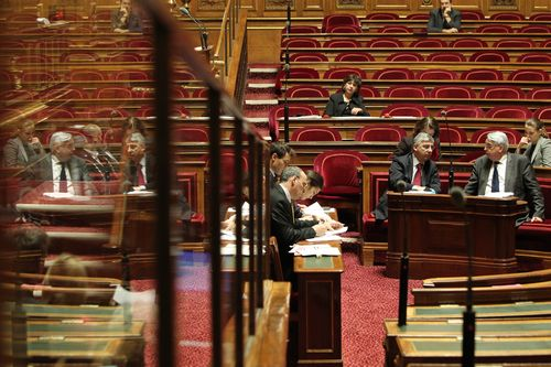 Séance publique au Sénat le 12 janvier 2012
