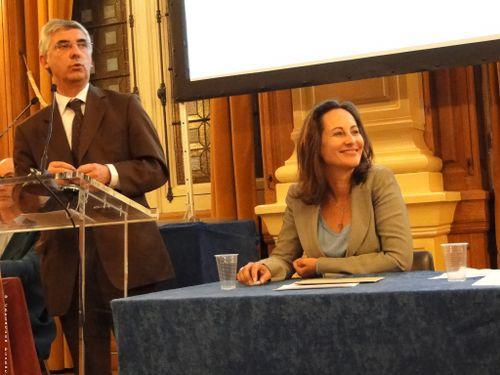Gaëtan Gorce et Ségolène Royal