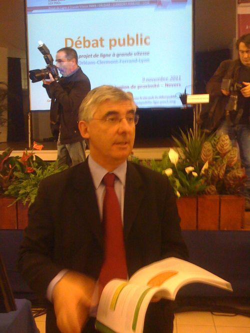 Débat public sur la LGV à Nevers