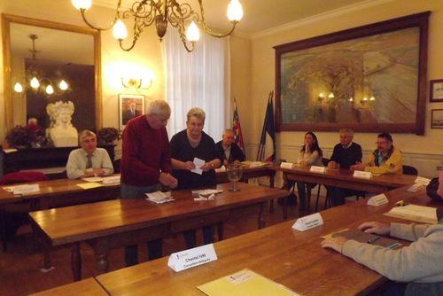 Election des délégués pour les sénatoriales partielles