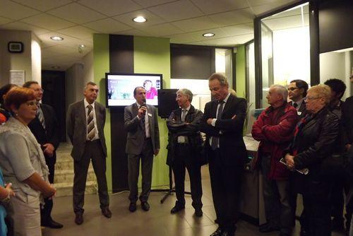 Inauguration de la nouvelle agence Crédit Agricole