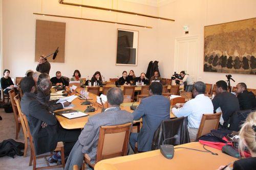 Conférence de presse - disparition de l'opposant tchadien Ibni Oumar Mahamat Saleh