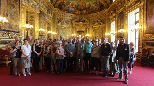 Visite des élus et des habitants de Cosne-sur-Loire
