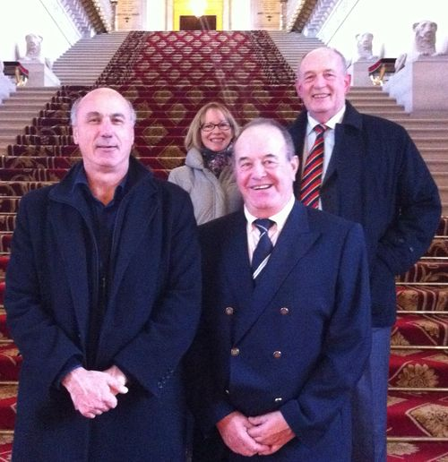 Visite au Sénat des maires de St-Pierre-du-Mont, Cuncy les Varzy et Varzy