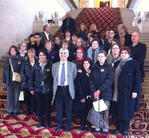 Visite de 26 professionnelles de l'aide et de l'accompagnement à domicile des personnes âgées sur le canton de La Charité sur Loire